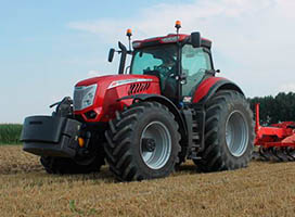 Universal tractors at the rate of 2% per year